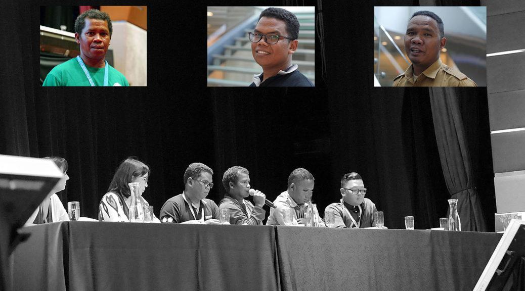 Roslan Carang, Param bin Pura and Hadi bin Mes ICCB 2019 (Photo: SL Wong)