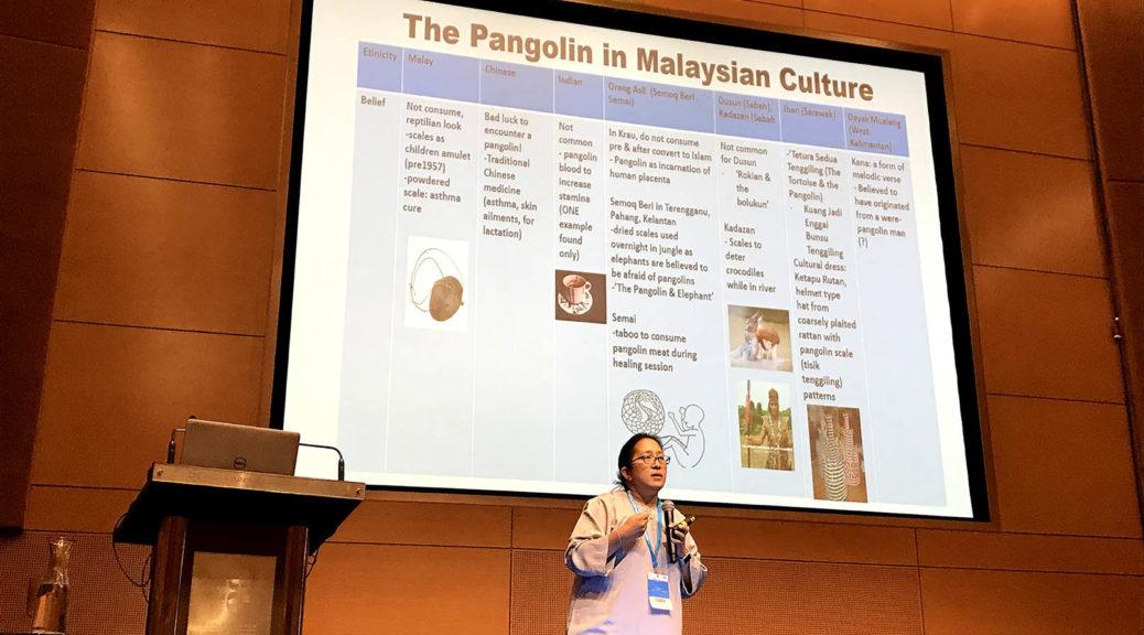 Chong Ju Lian, pangolin researcher (Photo: SL Wong)