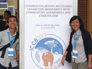 The Macaranga team is reporting on Malaysia-based conservation research, issues and people at ICCB 2019.