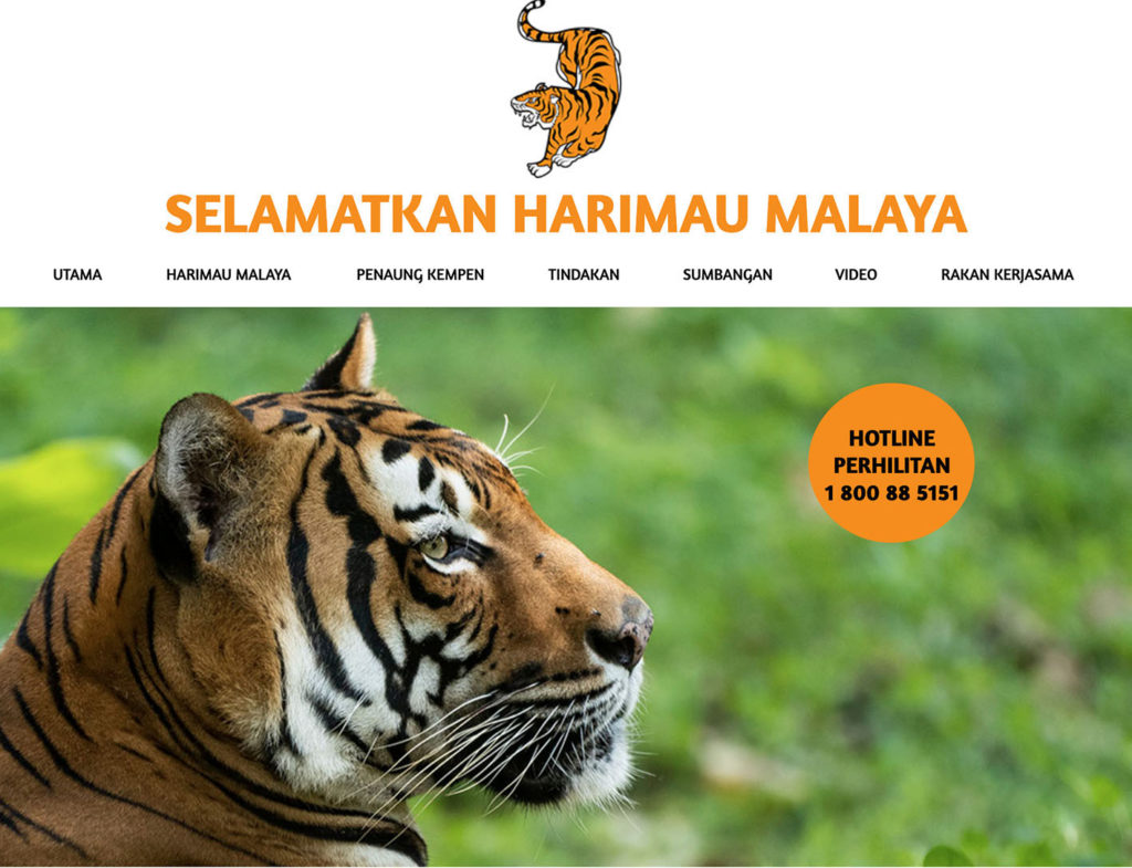 The 'Save The Malayan Tiger' programme employs firepower to tackle poaching (Photo: harimau.my, KATS/Perhilitan)