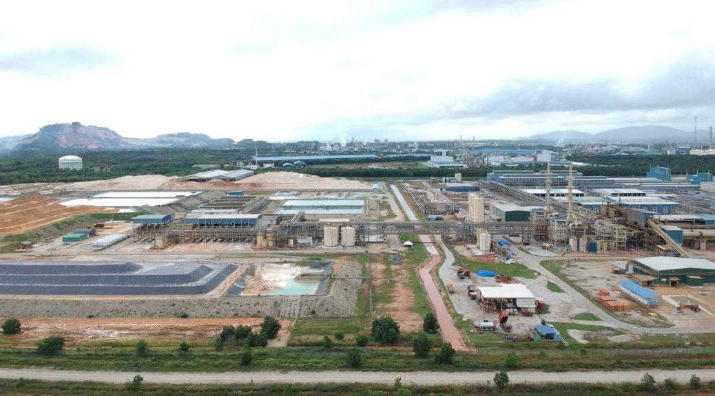 Lynas Advanced Material Plant, Kuantan. Dec 2018. Credit: Save Malaysia Stop Lynas