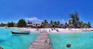 Sun, sea and surf have turned Mantanani into a major tourist draw. Pic by Reef Check Malaysia) (Macaranga)
