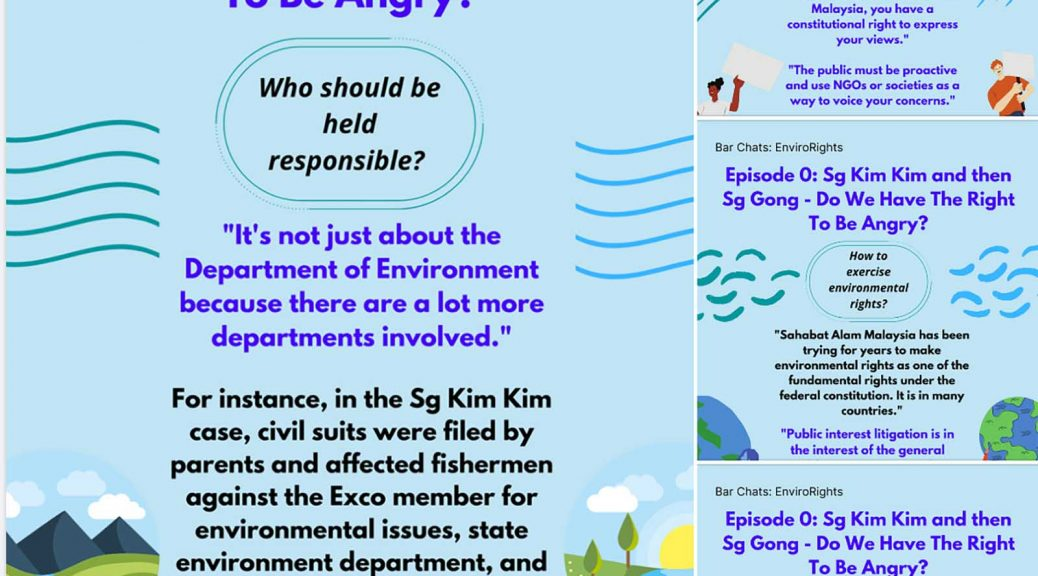 The Barchats: Envirorights webinars on environmental rights drew 435 lawyers and members of the public. (Facebook screenshot: Bar Council Committee on Environment and Climate Change)