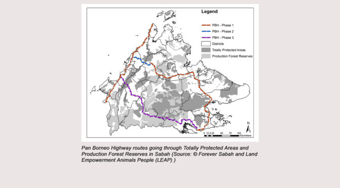 Must the Pan Borneo Highway Dissect the Tawai Forest?
