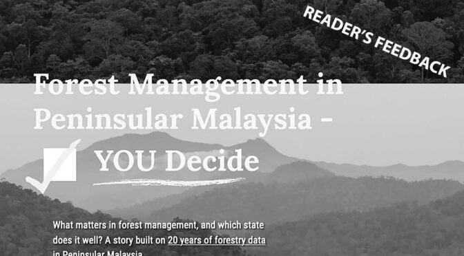 A Response to Macaranga's Article on Forest Management in Peninsular Malaysia